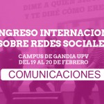 The Comunica2 Conference Announces the Planned Program of Scholarly Papers
