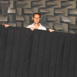 A Mobile Curtain Against Light, Noise, Heat, Fire and Electromagnetic Radiation